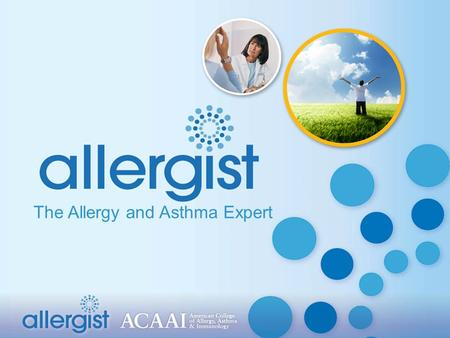 The Allergy and Asthma Expert. Allergic disease affects 40 million to 50 million Americans Nearly 20-25 percent of U.S. population suffers from:  Asthma.
