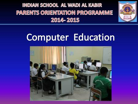To develop the hand and eye coordination of a child To develop innovative and creative ideas in them. To help children to excel in the usage of the computer.