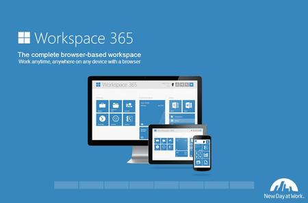 The complete browser-based workspace Work anytime, anywhere on any device with a browser.