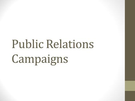 Public Relations Campaigns.  _view0/part1/chapter1/multiple_choice_quiz.html