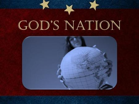 "God's Nation. John Adams : ""The general principles on which the fathers achieved independence were the general principles of Christianity."" John Hancock,"