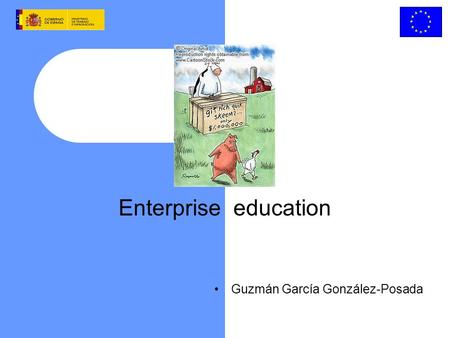 Enterprise education Guzmán García González-Posada.