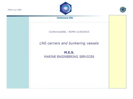 LNG carriers and bunkering vessels