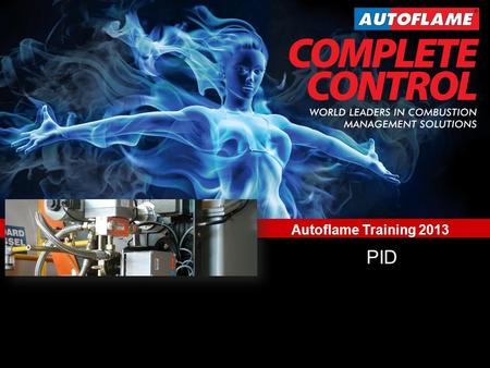 World Leaders in Combustion Management Solutions Training School 2013 www.autoflame.com Autoflame Training 2013 PID.
