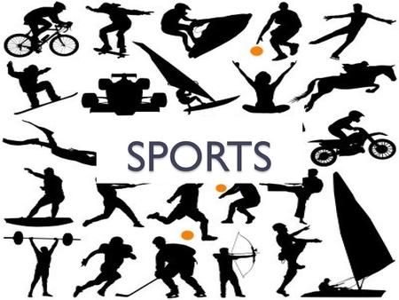 SPORTS. sport = athletic activity that requires some skill or physical power What are some sports you know?