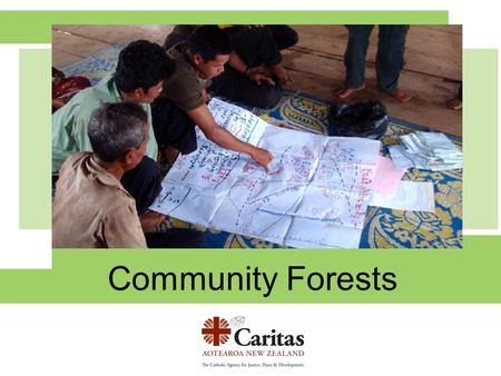 Community Forests. In the rural areas of Cambodia one forest may be used by many villages. In the past people didn't need maps. They just knew where to.