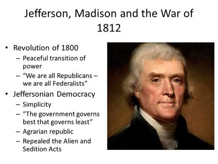 apush revolution of 1800 Revolution of 1800 dbq apush-revolution of 1800 essayap essay redo kaleb duncan the election of 1800 was considered the.