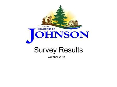 Survey Results October 2015. Introduction This survey was designed in hopes of creating detailed information to be available to the Council Members of.
