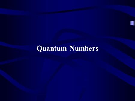 Quantum Numbers. How does a letter get to you? 5501 Haltom Rd Haltom City, TX 76137.