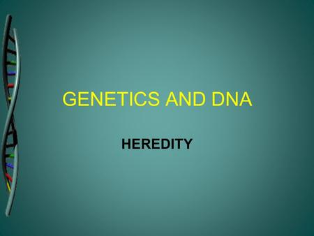 GENETICS AND DNA HEREDITY. CELL Cells are the building blocks of human body. Different cells have many different functions. They all contain the same.