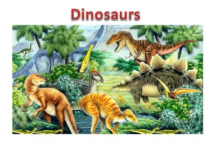Contents page What are dinosaurs? …………………………….. 1 Dinosaur diet ………………………………………….2 Flying dinosaurs………………………………………3 Tyrannosaurus Rex………………………………….4 Extinction………………………………………………..5.