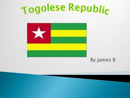 By James B. Togo is located on Western Coast of Africa. Its capital city is Lome. With the geographic location of 6°7'N latitude and longitude 1°13'E.