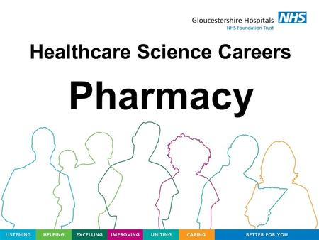 Healthcare Science Careers Pharmacy. Pharmacy Team Pharmacists Pharmacy Technicians Dispensers Pharmacy Assistants Trainees.
