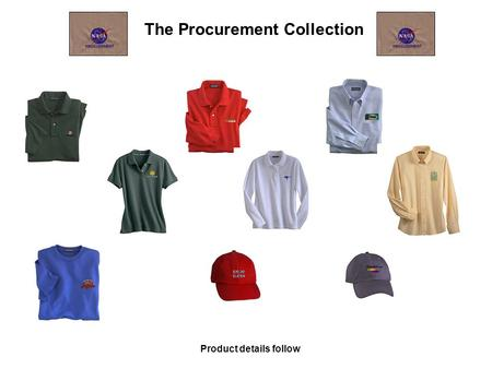 The Procurement Collection Product details follow.