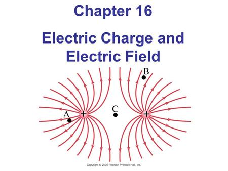 Chapter 16 Electric Charge and Electric Field. Units of Chapter 16 Static Electricity; Electric Charge and Its Conservation Electric Charge in the Atom.