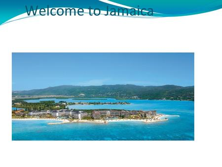 Welcome to Jamaica. Jamaica's Location Jamaica is an island in the Caribbean Sea, located 145 Kilometres south of Cuba and 190 Kilometres west of Haiti.