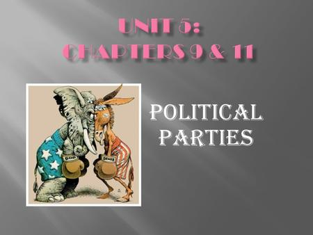 Political Parties.  Types: Communist Party & Theocracy  Elections are meaningless  Advantages: 1 person in control to where things can get done faster.