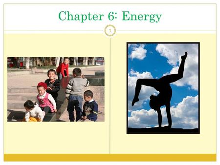 Chapter 6: Energy 1. Energy Balance - Introduction 2 Energy metabolism deals with change and balance. Our bodies constantly convert fuel energy from food.