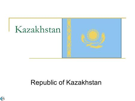 Kazakhstan Republic of Kazakhstan. General Information People native to this area are a mixture of Turkic and Mongol tribal people. The tribal people.
