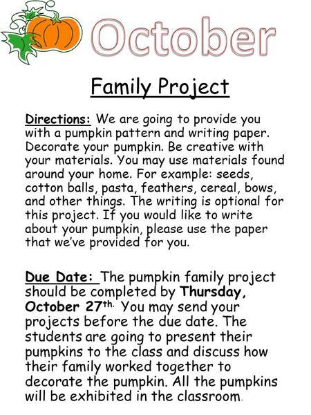 family history project essay