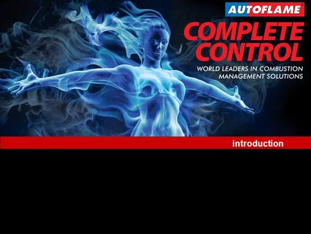World Leaders in Combustion Management Solutions Taiwan 2012 www.autoflame.com introduction.