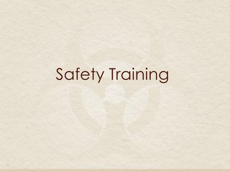 Safety Training. What is the purpose of the OSHAs bloodborne pathogens final standard? The purpose is to limit on-the-job exposure to blood and potentially.