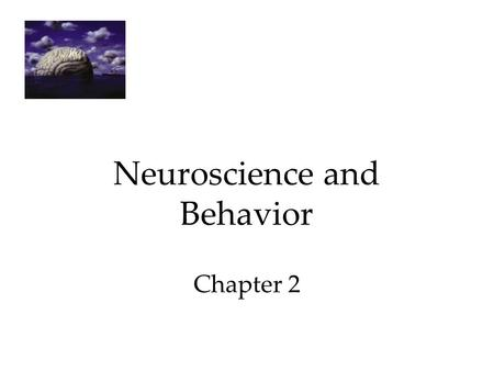1 Neuroscience and Behavior Chapter 2. 2 The Endocrine System The Endocrine System is the body's chemical communication system. Communication is carried.