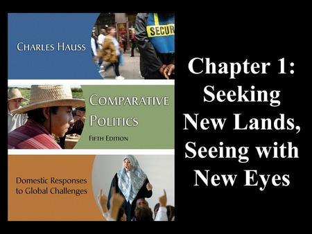 Chapter 1: Seeking New Lands, Seeing with New Eyes.