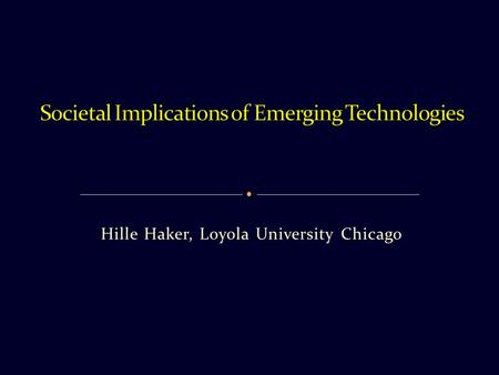 Hille Haker, Loyola University Chicago. 1. Continue research on somatic gene editing with due oversight and ethical, social, and legal studies 2. Set.