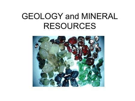 GEOLOGY and MINERAL RESOURCES. Geologic Processes: Structure of the Earth Fig. 4-7 p. 60.