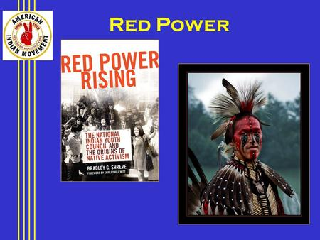 "Red Power. INDIAN ISSUES POVERTY UNEMPLOYMENT HIGH INFANT MORTALITY HIGH ALCOHOLISM AND DRUG ABUSE HIGH TUBERCULOSIS LOWER LIFE EXPECTENCY ""CULTURAL GENOCIDE"""