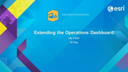 Extending the Operations Dashboard