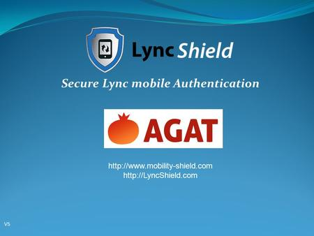 Secure Lync mobile Authentication   V5V5.