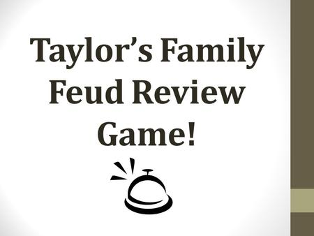 Taylor's Family Feud Review Game!. What was Prince Henry's role in European exploration?