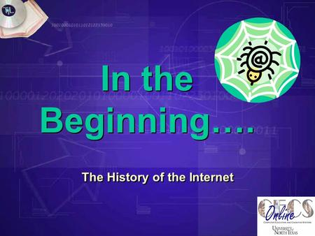 In the Beginning…. The History of the Internet. Essential Questions  What factors drove the development of the Internet?  Who were the people involved.