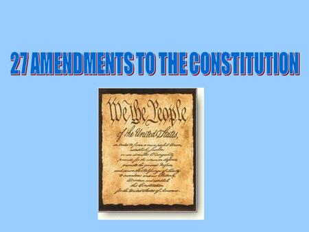 1 st AMENDMENT Freedom speech, press, religion, petition, assembly