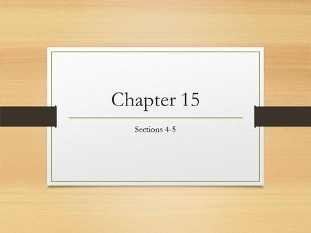 Chapter 15 Sections 4-5. Independent Agencies Located outside the cabinets 150 agencies NASA (National Aeronautics and Space Administration) Similar to.