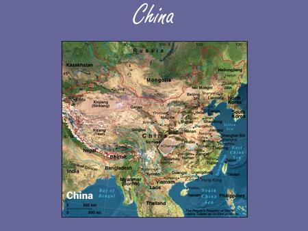 "China. 1. Why do the Chinese call themselves the ""Middle Kingdom""? (p.137)"