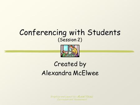 Conferencing with Students (Session 2)