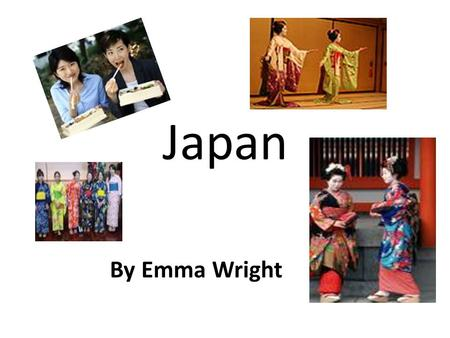 Japan By Emma Wright. Contents 1.Common sayings 2.Currency 3.Flag 4.Japanese Alphabet 5.Traditional Festivals 6.Family Structure 7.Itinerary 8.Photo Page.