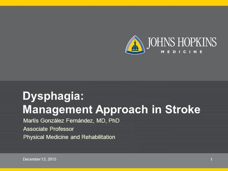 Dysphagia: Management Approach in Stroke