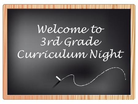 Welcome to 3rd Grade Curriculum Night. 3rd Grade Team: Mrs. Dameron Mrs. Giesler Mrs. Huling Mrs. May Ms. Miller Mrs. Smith Mrs. Vest.