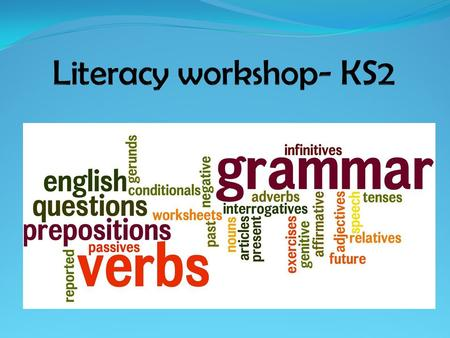 Literacy workshop- KS2.