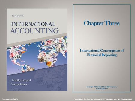 chapter 3 international convergence of financial reporting International financing accounting 7,5hp master program ht-09  3 11 why  do we need to harmonize the financial report   convergence 14  phase a:  objectives and qualitative characteristics final chapter phase b: elements.