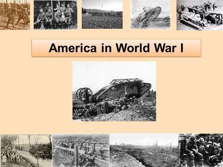 America in World War I. MILITARISM What is it? –Keeping a standing army always prepared for war –Armed forces as tool of diplomacy Which European country.