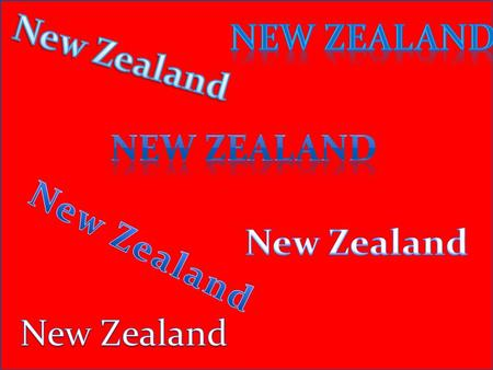Flag of New Zealand Maps of New Zealand- present 2009.