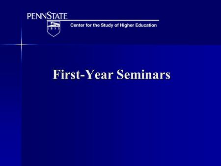 First-Year Seminars. Research Findings In short, the weight of evidence indicates that FYS participation has statistically significant and substantial,