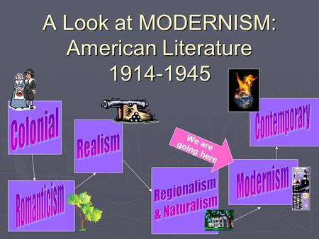 A Look at MODERNISM: American Literature