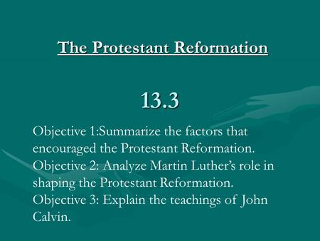 Martin luther protestant reformation summary