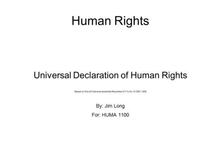 un declaration of human rights 1948 pdf